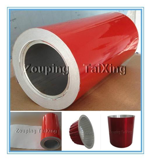 red lacquer aluminium foil back side white lacquer  1