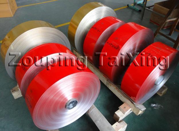 red lacquer aluminium foil back side white lacquer  2