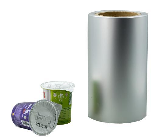 aluminium foil with ps heat seal for yogurt lids  2