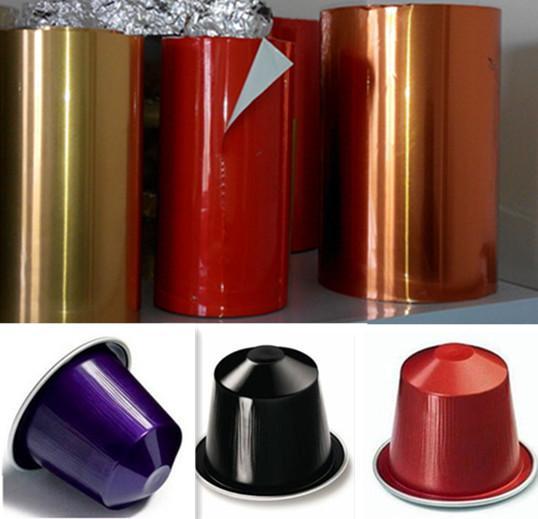 aluminium foil lacquered for coffee capsules  1