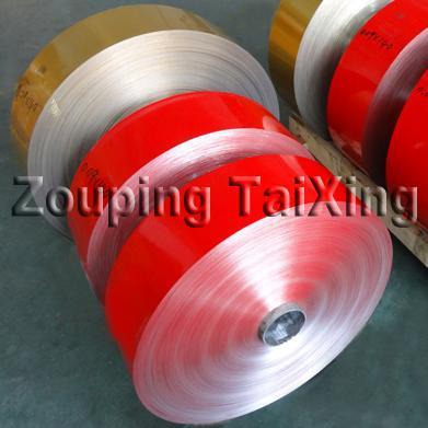 aluminium foil lacquered for coffee capsules  2