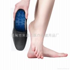 来通达磁灸按摩降压皮鞋