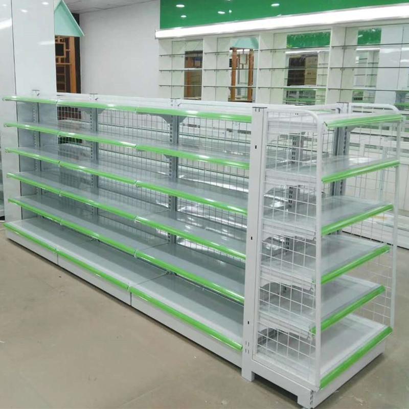 銳記63型背網式藥店貨架超市展示貨架 1