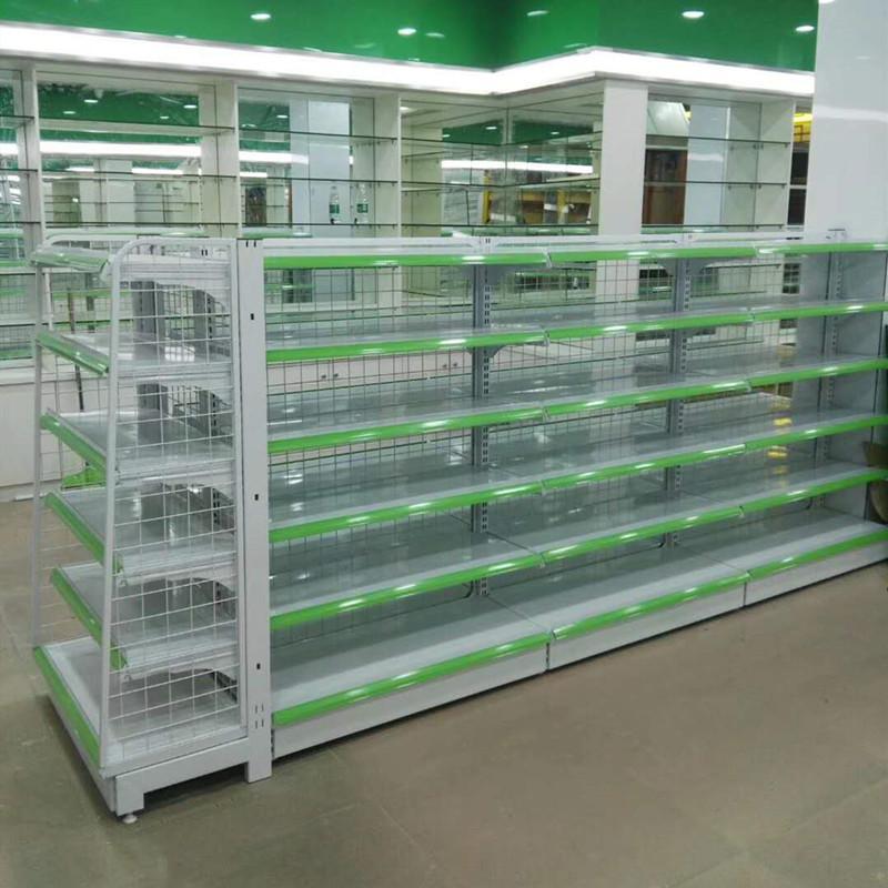 銳記63型背網式藥店貨架超市展示貨架 2