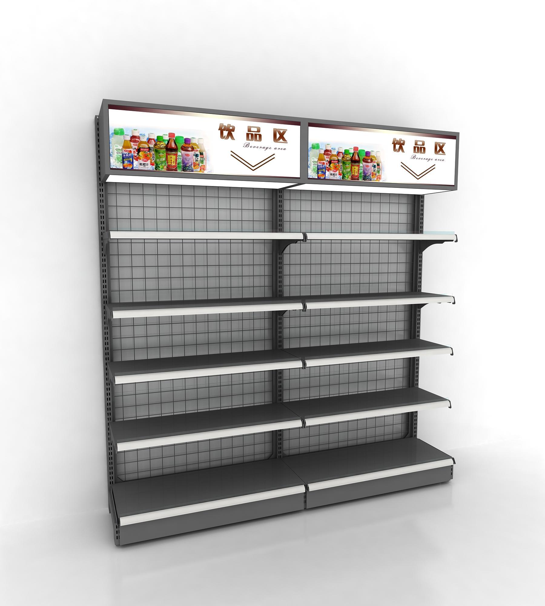 銳記63型背網式藥店貨架超市展示貨架 4