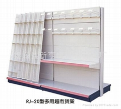 Multifunctional supermarket rack&shelf