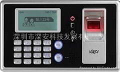進口指紋門禁考勤機FP4000