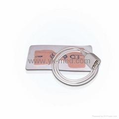 Compatible with NIHON KOHDEN adult disposable SpO2 sensor