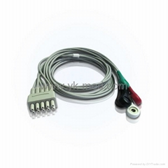 Compatible with GE Medical Marquette ECG Lead Set