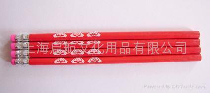 供应木制彩色铅笔 3