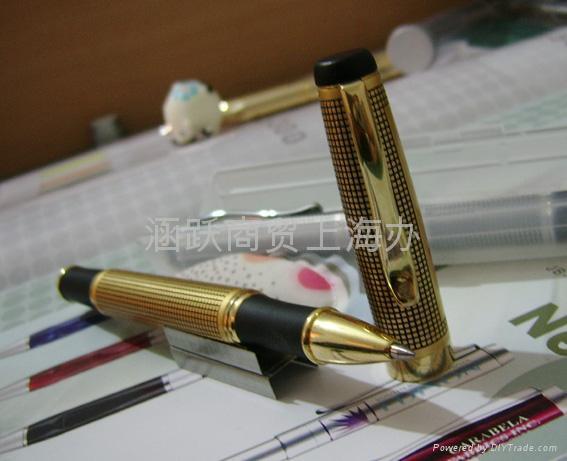 上海金属中性笔水笔 3