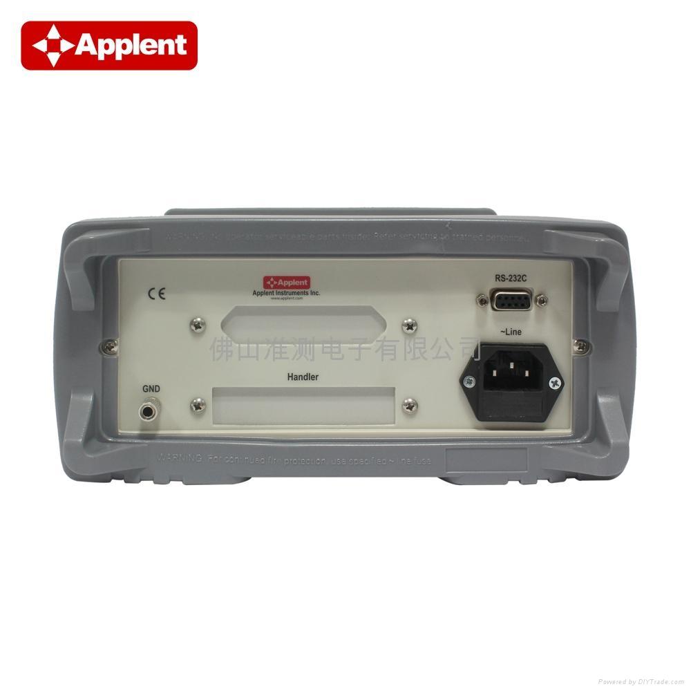 Applent/常州安柏 AT817D LCR电桥 LCR测试仪 LCR数字电桥 4