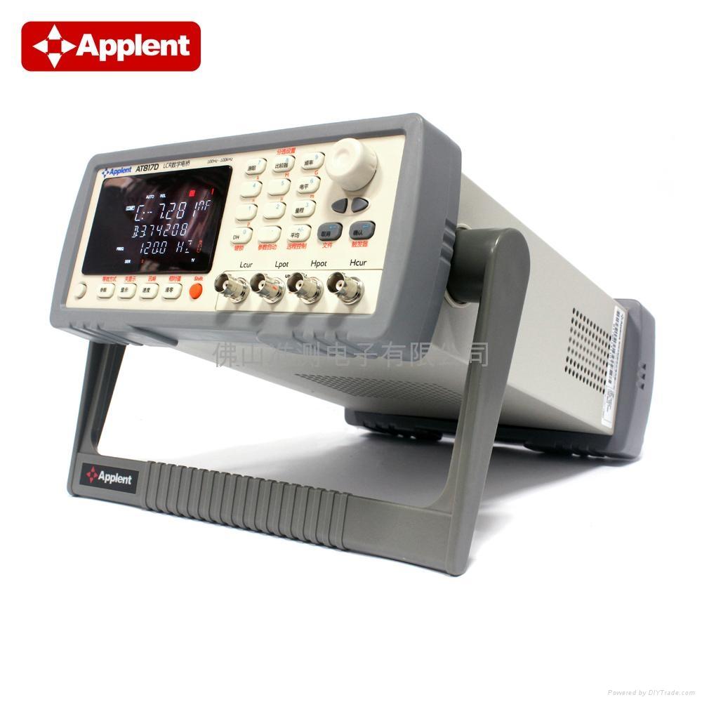 Applent/常州安柏 AT817D LCR电桥 LCR测试仪 LCR数字电桥 3