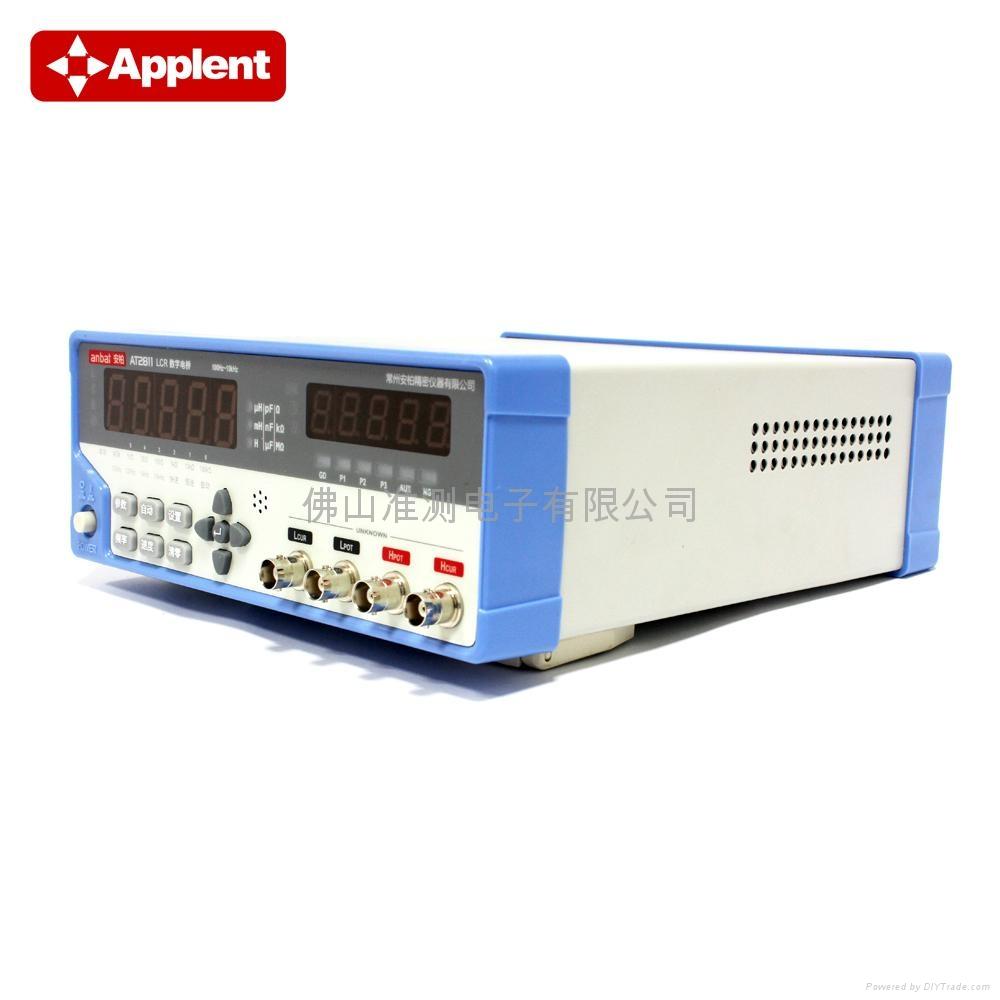 Applent/常州安柏 AT2811 LCR电桥 LCR测试仪 LCR数字电桥 高速型 10kHz 2