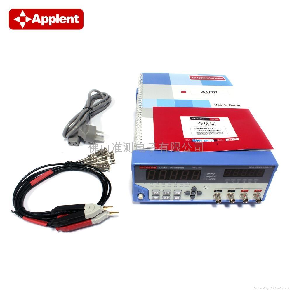 Applent/常州安柏 AT2811 LCR电桥 LCR测试仪 LCR数字电桥 高速型 10kHz 4