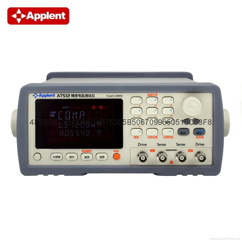 安柏/applent  AT512  精密电阻测试仪 1