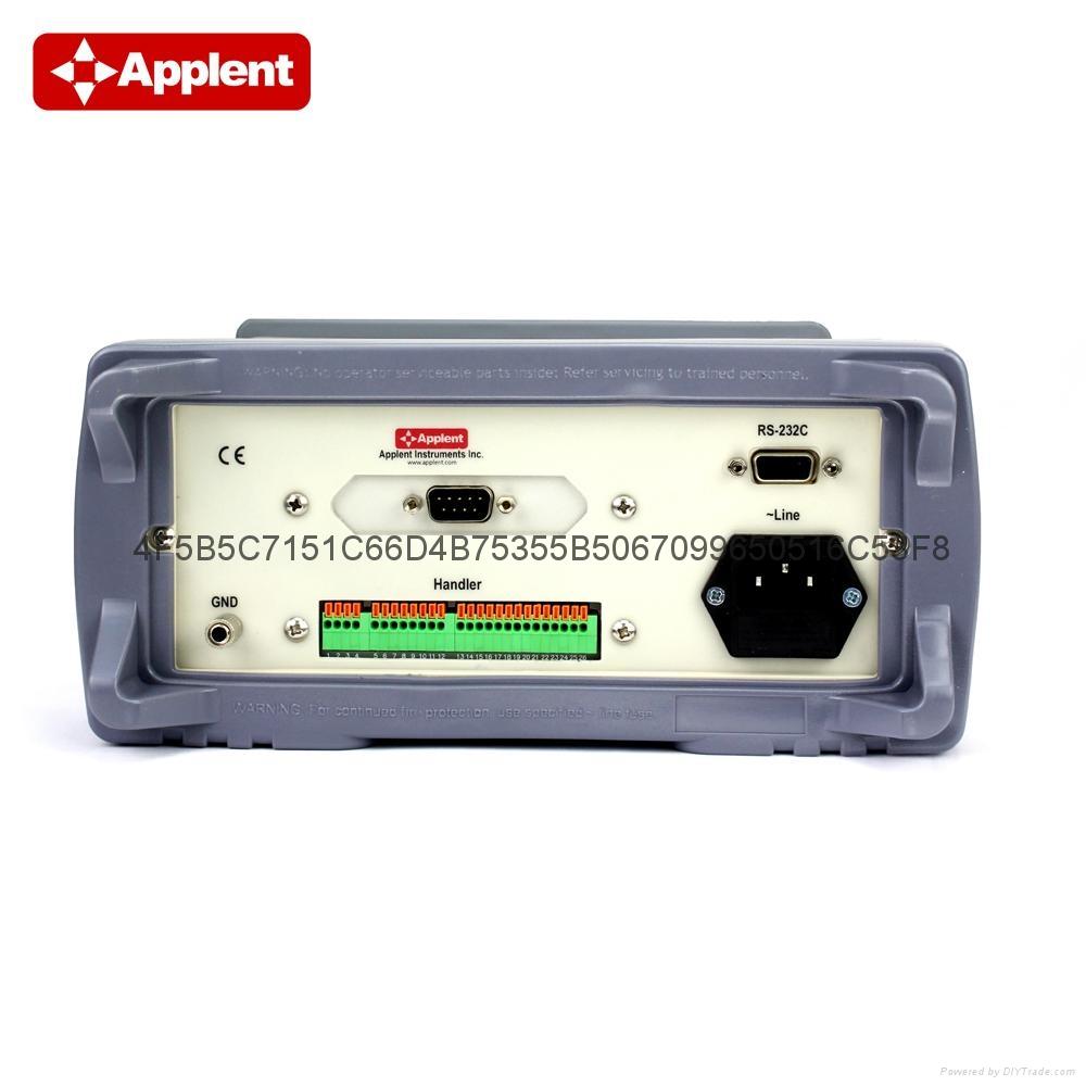 安柏/applent  AT512  精密电阻测试仪 3