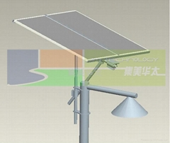 路燈太陽能風光互補跟蹤