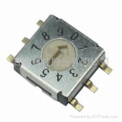 7mm, Miniature Rotary Coded Switch