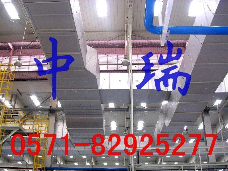 單面彩鋼酚醛復合風管 2
