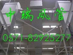 廠房專用淨化雙面彩鋼板復合風管