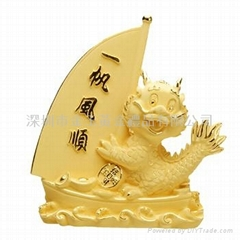 gold gifts(dragon) , sil