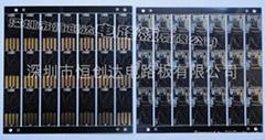 0.2MM厚U盤PCB線路板