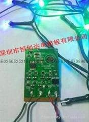 LED燈聖誕燈控制板PCB線路板