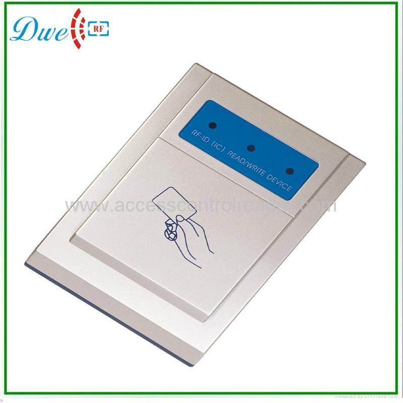 USB 125khz or 13.56Mhz desktop reader 110A 1