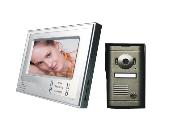 Color Video Door Phone for Villa with image store function  1