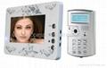 7 inch  color handfree villa Video door phone with ID card