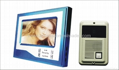 7 inch night vision handfree video door phone V7D-Z