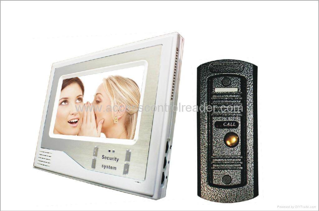 Metal Pin-hole camera video door phone