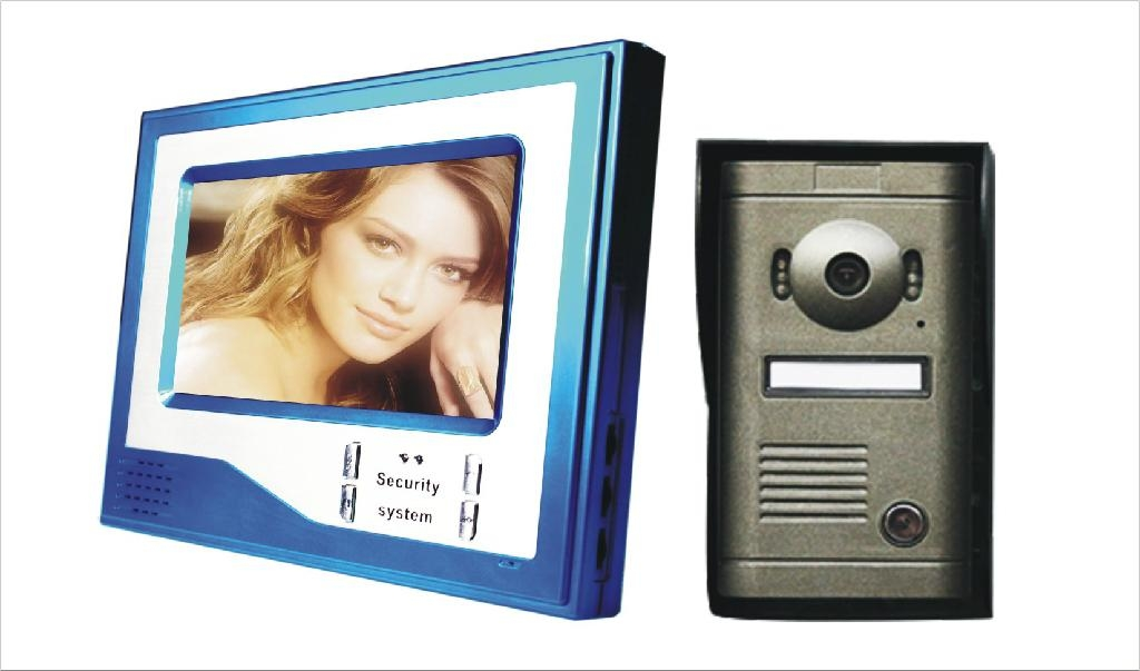 Color Video Door Phone for Villa with image store function  3