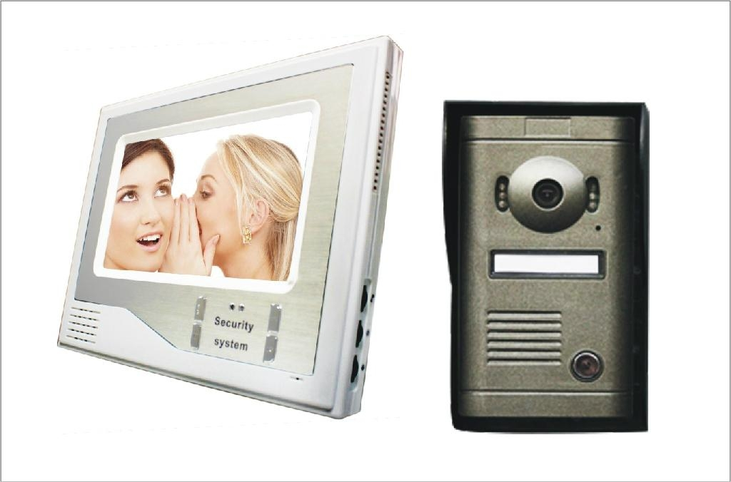 Color Video Door Phone for Villa with image store function  4