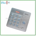backlight anti-rain 12V access control keypad Reader with door bell function