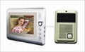 7 inch video door phone for villa color video intercom system