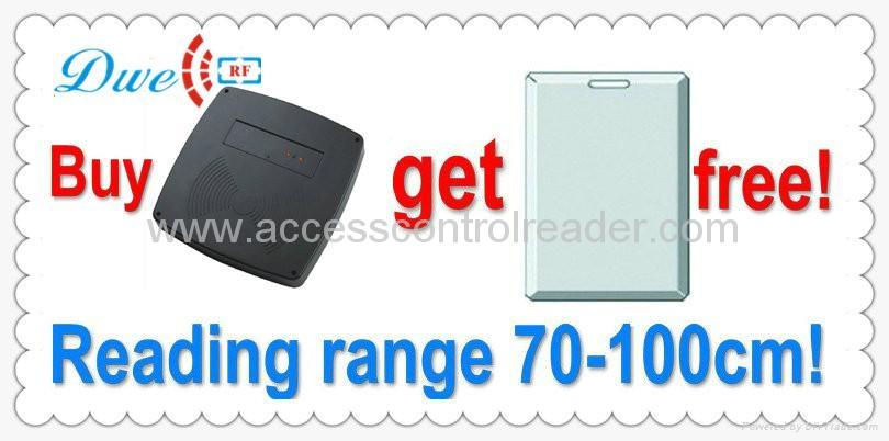 1M middle long range reader passive reader parking system 3