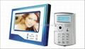 7 inch color monitor handfree video door