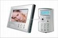 7 inch color video door phone intercom system
