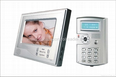 7 inch color video door