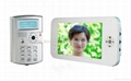 7 inch video door phone for villa unlock support attendance function