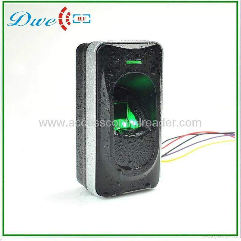 12V  biometric RS485 fingerprint access control  reader IP65 2
