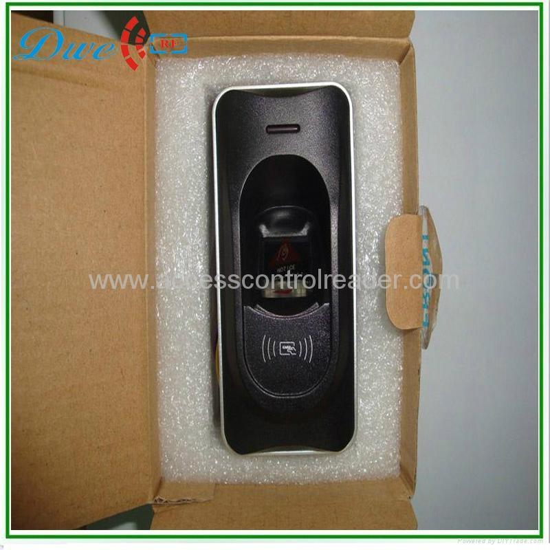 12V  biometric RS485 fingerprint access control  reader IP65 3