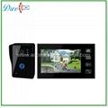 7 inch wireless video door phone for villa intercom system