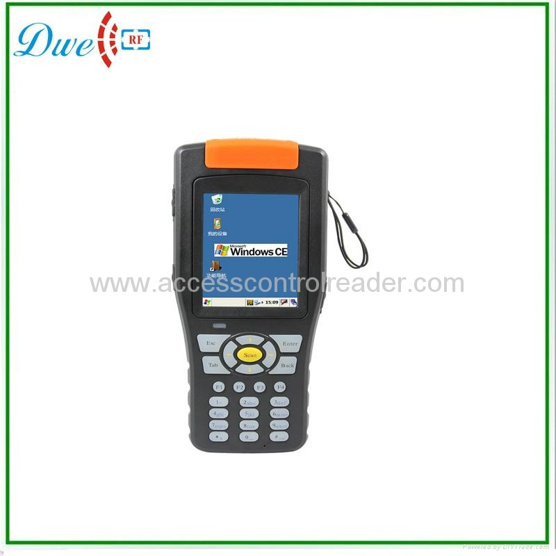 RFID UHF Handheld Reader with 2D barcode DPH02 1