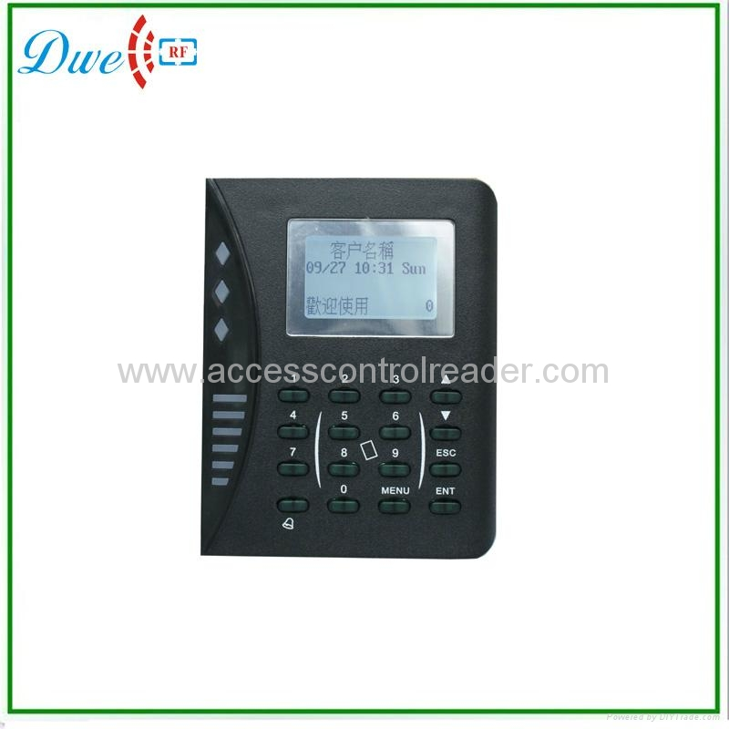 TCP/IP Access Control and Time Attendance with LCD display  1