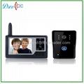 3.5 inch wireless touch screen video door phone  intercom system