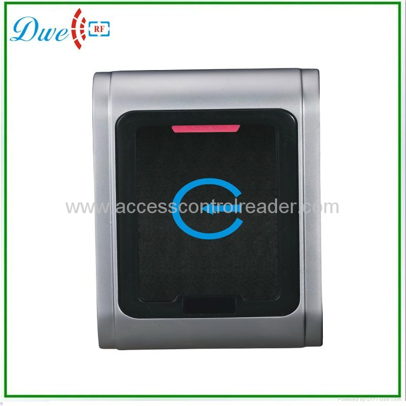 Waterproof metal case access control card reader 002K