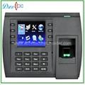 Handheld fingerprint time attendance
